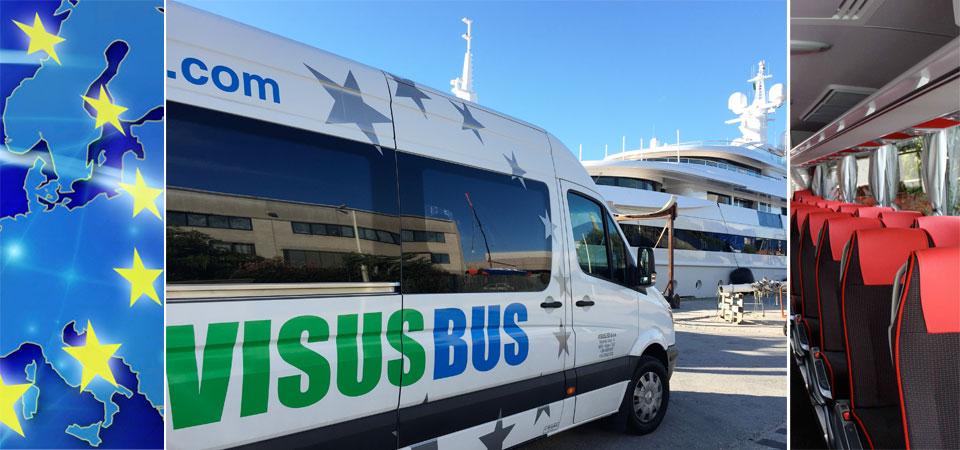 bus pullman rent noleggio