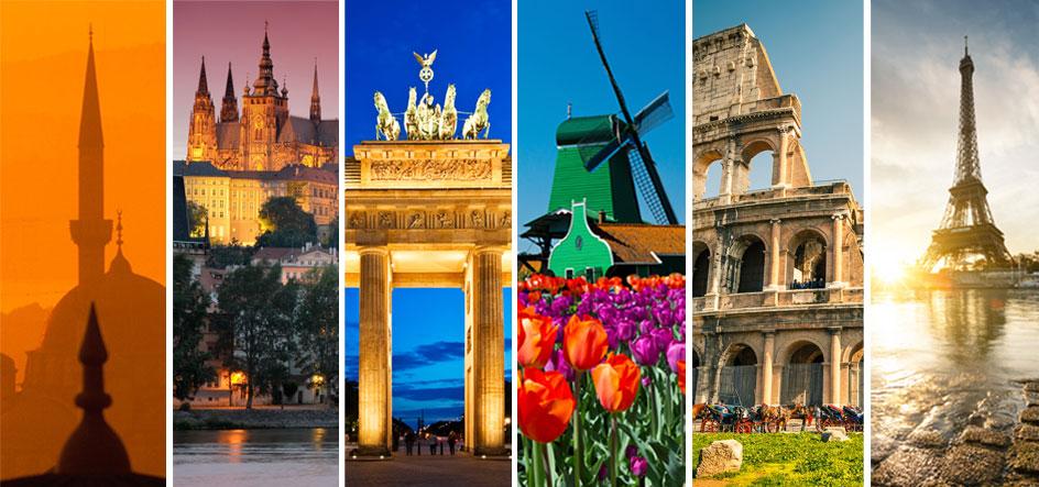 Trip in europe viaggio europa