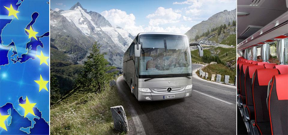 pullman bus europe